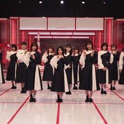 """櫻坂46が最新シングルから3曲パフォーマンス!森田ひかるら""""櫻エイト""""の個性に迫る"""