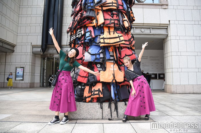 『安全な通行』(アイ・ウェイウェイ、2016、(C)Ai Weiwei Studio)(C)モデルプレス