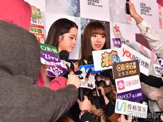 """台湾スター・池端レイナ、圧倒的人気でメディア殺到 """"3変化""""で魅了<AFA2016>"""