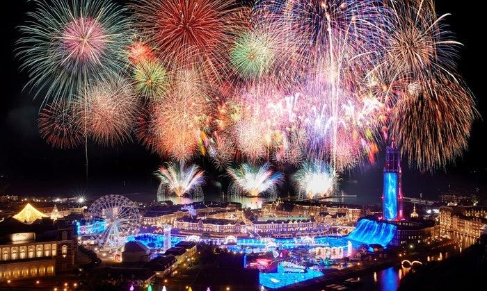 ハウステンボス「春の九州一花火大会」2万発が夜空を彩る 豪華声優陣のトークショーも/画像提供:ハウステンボス