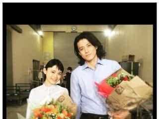 「花沢類さんが大好きだった」杉咲花、小栗旬とCM初共演で2ショット公開「花晴れ」「花男」ファン歓喜
