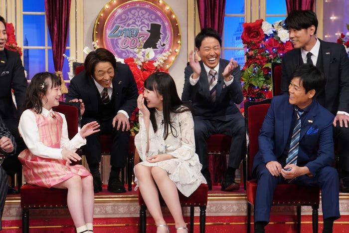 本田望結、本田紗来 (C)日本テレビ