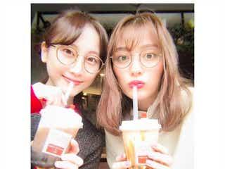 内田理央、松井玲奈とのメガネ2ショット公開「海月姫コンビ」「可愛すぎ」とファン歓喜