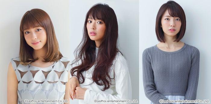 初の試みに挑む(左から)大川藍、内田理央、小島梨里杏(画像提供:所属事務所)