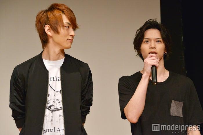 新番組『オールナイトニッポンi~おしゃべや~』記者発表(左から)和田雅成、北村諒(C)モデルプレス