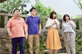 """桜井日奈子、コントに挑戦 松井玲奈は""""婚約者""""に"""