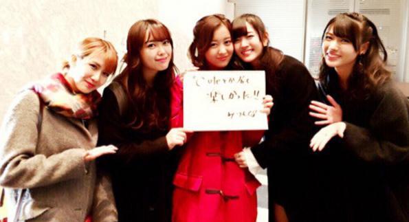 ℃-ute公式ブログ(Ameba)より