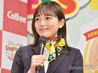 川口春奈、受付嬢スタイルで登場 「絶対に通らなかった」平成ファッション明かす