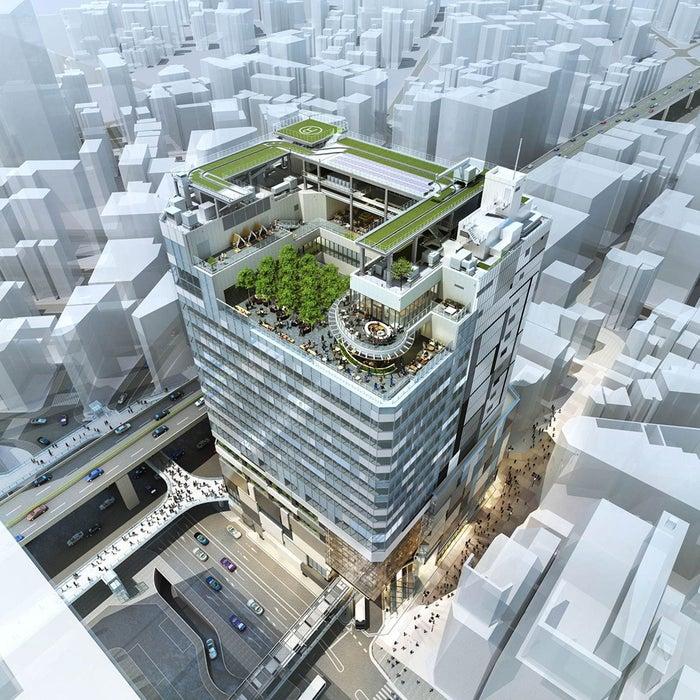 東急プラザ渋谷が入居する新高層ビル「渋谷フクラス」/画像提供:ワイズテーブルコーポレーション