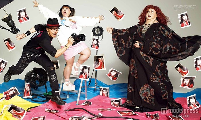 (左から)レスリー・キー、渡辺直美、マツコロイド(画像提供:日本テレビ)
