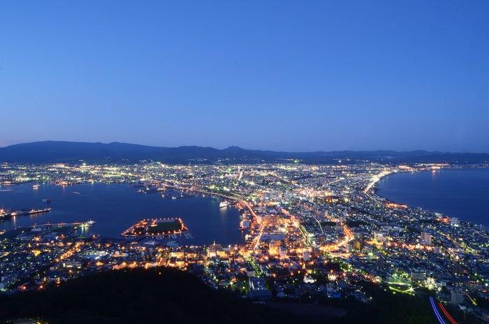 ミシュラン・グリーンガイド・ジャポン3つ星認定を受けている函館の夜景(画像提供:函館山ロープウェイ(株))