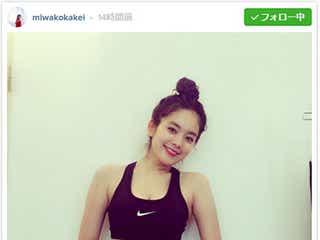 筧美和子、ダイエット後の美くびれ披露「鬼減量期間」経てさらにメリハリ美ボディに