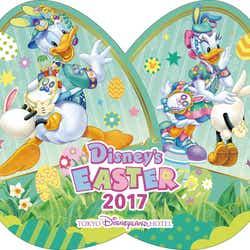 """「東京ディズニーランドホテル」""""ディズニー・イースター""""ポストカード(イメージ) /(C)Disney"""