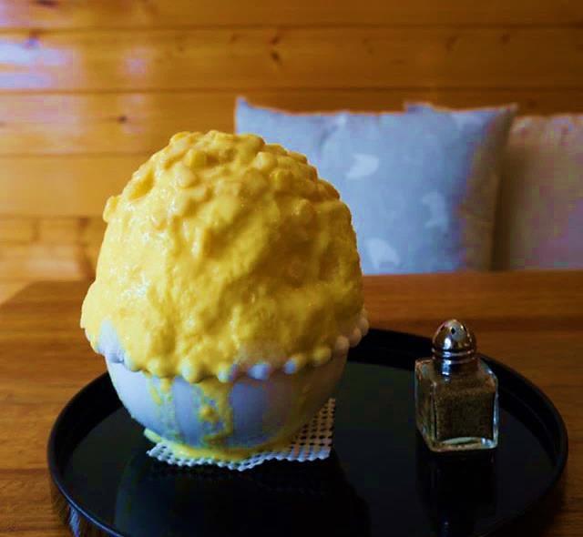 とうもろこしかき氷/画像提供:横浜高島屋