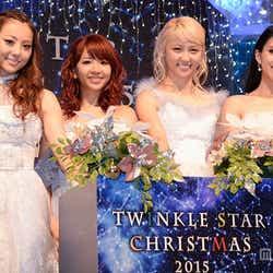 (左から)Dream Shizuka、Dream Aya、Dream Ami、Erieさん/2016年12月撮影(C)モデルプレス