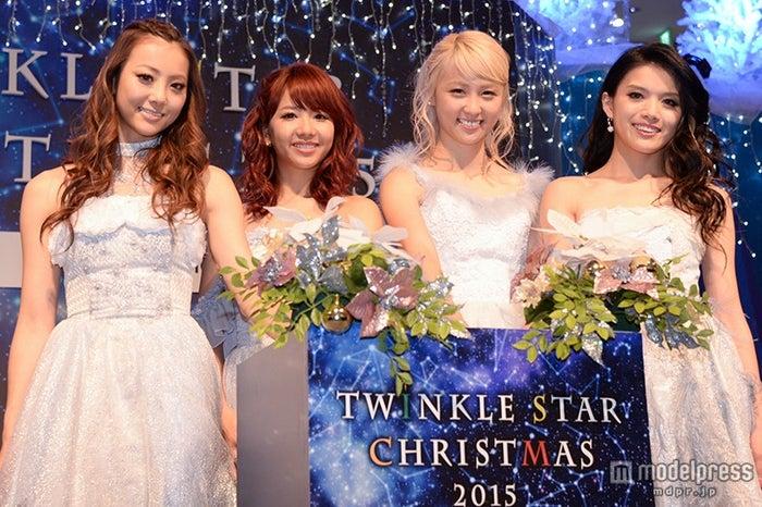 左から)Dream Shizuka、Dream Aya、Dream Ami、Erieさん/2016年12月撮影(C)モデルプレス