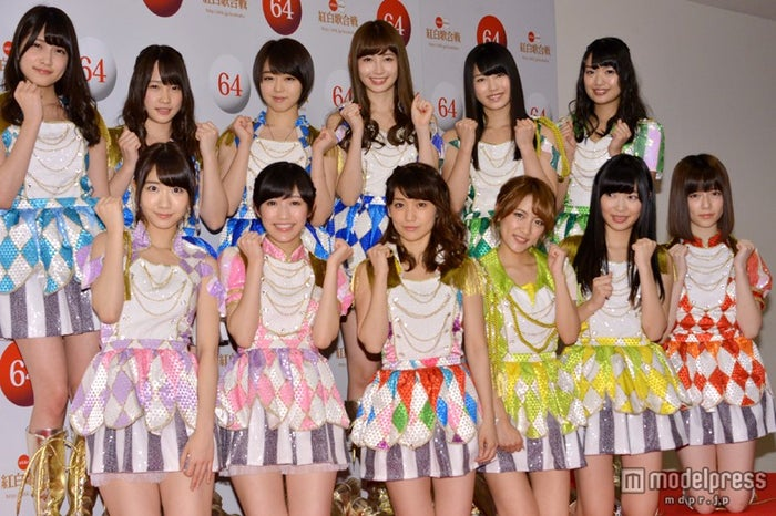 「第64回NHK紅白歌合戦」のリハーサルを行ったAKB48