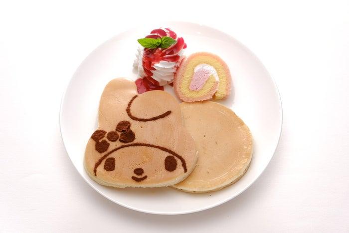 サンリオキャラクターパンケーキ(全4種)  各800円/マイメロディ(提供画像)