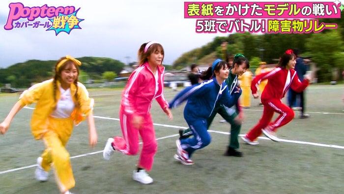 (左から)れいたぴ・るちゃまる・ゆなたこ・ゆあてぃー・あやみん(C)AbemaTV
