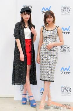 渡辺梨加&渡邉理佐(C)モデルプレス