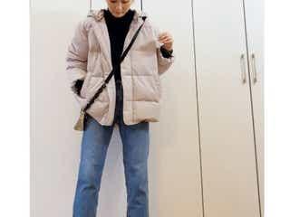 この冬真似したいダウンジャケットの着こなし術 寒くないのにおしゃれ!