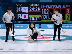 カーリング女子日本代表(Photo by Getty Images)