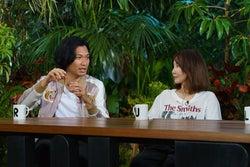 青木崇高、YOU (写真提供:関西テレビ)