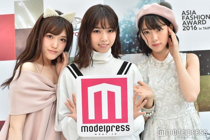 左から;松村沙友理、西野七瀬、堀未央奈 (C)モデルプレス