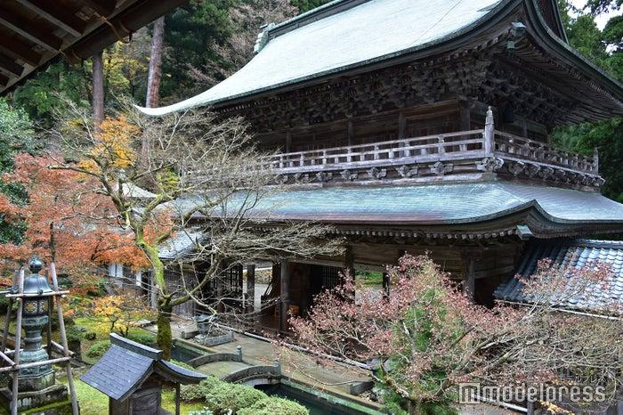 山の斜面に建てられた永平寺。坂道が続くので歩きやすい靴で参詣するのがオススメ(C)モデルプレス