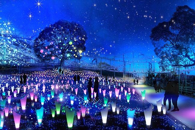 「光の遊園地」イメージ/画像提供:京阪電気鉄道