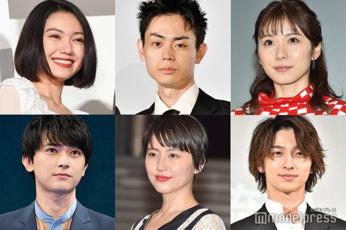 (左上から時計回りに)二階堂ふみ、菅田将暉、松岡茉優、横浜流星、長澤まさみ、吉沢亮 (C)モデルプレス