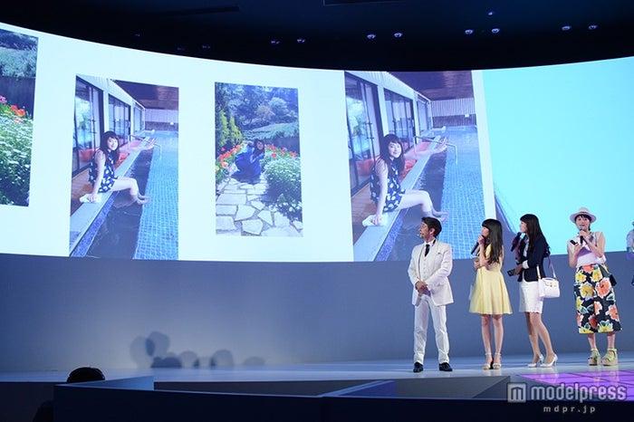 プライベートショットを公開した筧美和子