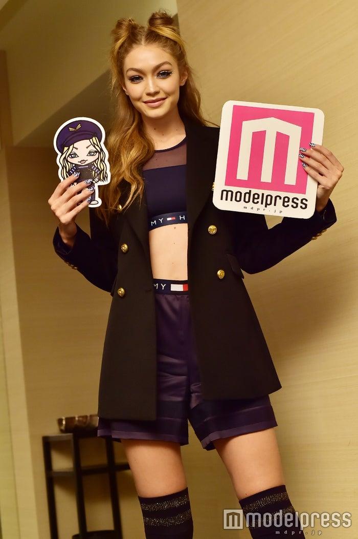 ジジ・ハディッド(Gigi Hadid)2016年来日時に撮影(C)モデルプレス