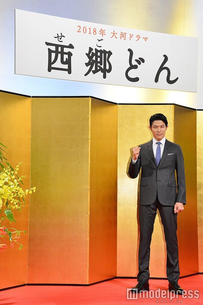 2018年大河ドラマ「西郷どん」の主演に決まった鈴木亮平 (C)モデルプレス