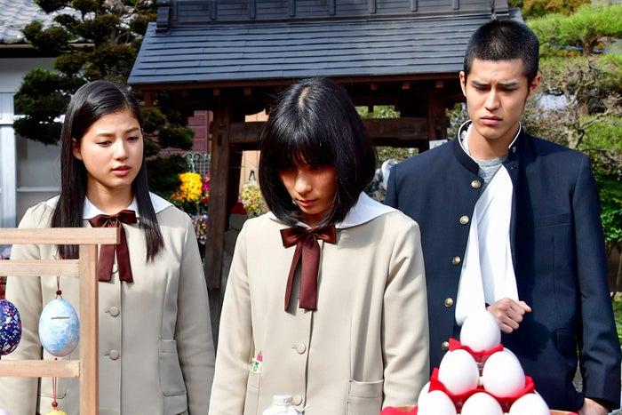 石井杏奈、芳根京子、寛一郎(C)2017映画「心が叫びたがってるんだ。」製作委員会(C)超平和バスターズ