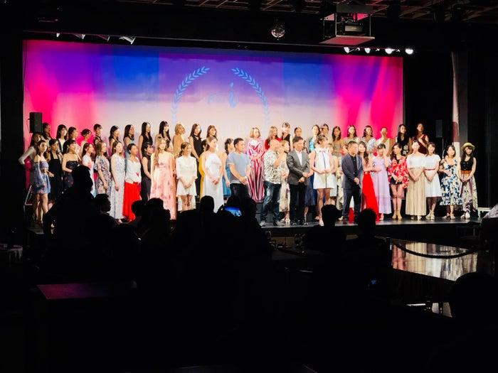 「日本人モデル中国デビュー支援」第3次オーディションの様子(提供写真)