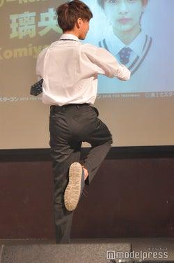 小宮璃央くん/特技はダンスのターン(C)モデルプレス