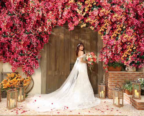 久松郁実、2020年秋に結婚していた 美しいウエディングドレス姿披露