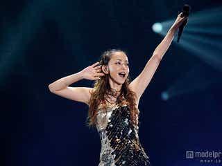 安室奈美恵のツアー開幕 ノンストップで29曲熱唱&3年ぶり試みも発表