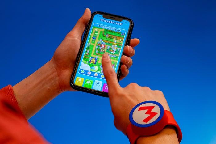 専用アプリを使いゲスト同士でコイン数などを競う(C)Nintendo