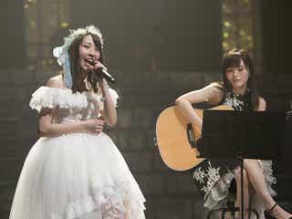 NMB48藤江れいな、卒業コンサートでグループ愛語る 山本彩のギターにのせた「幸せの欠片」も<セットリスト&コメント>