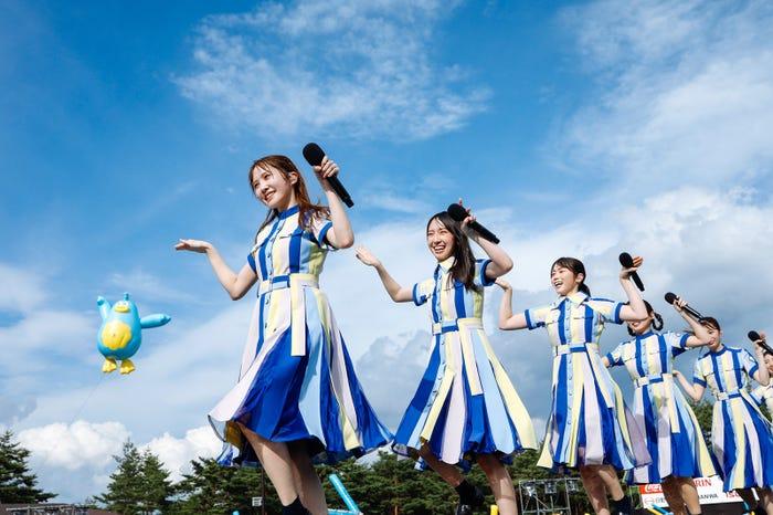 日向坂46『W-KEYAKI FES.2021 DAY-2』(撮影:上山陽介)