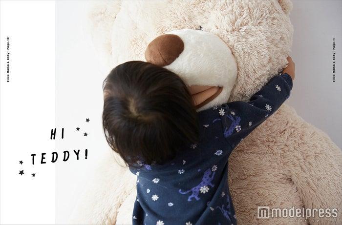 """鈴木えみの愛娘""""ベビちぃ""""/「s'eee Vol.5 MAMA&BABY」より(画像提供:集英社)"""