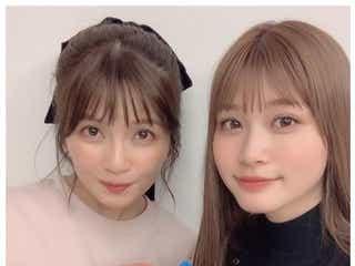 生見愛瑠、宇野実彩子から誕生日サプライズ「嬉しすぎました」 仲良し2ショットに反響
