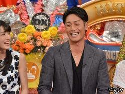 永井大、中越典子との結婚秘話をテレビ初告白『ダウンタウンDX』にゲスト出演