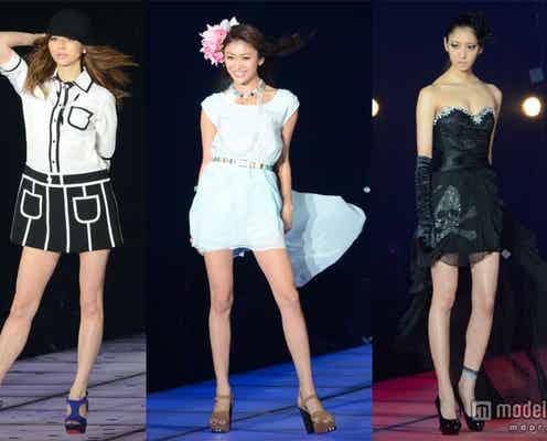 香里奈、山田優、菜々緒ら人気モデルが春夏ファッションで集結<TGC写真特集>