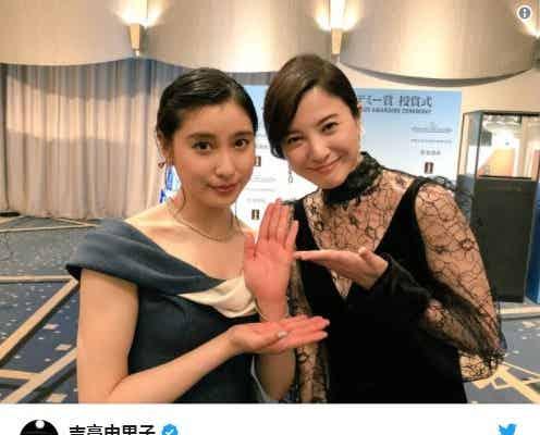 """吉高由里子&土屋太鳳「花子とアン」""""姉妹""""再会ショットにファン歓喜"""