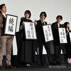 映画『キングダム』初日舞台挨拶(C)モデルプレス