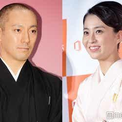 妻の近況を明かした市川海老蔵と妻・小林麻央 (C)モデルプレス