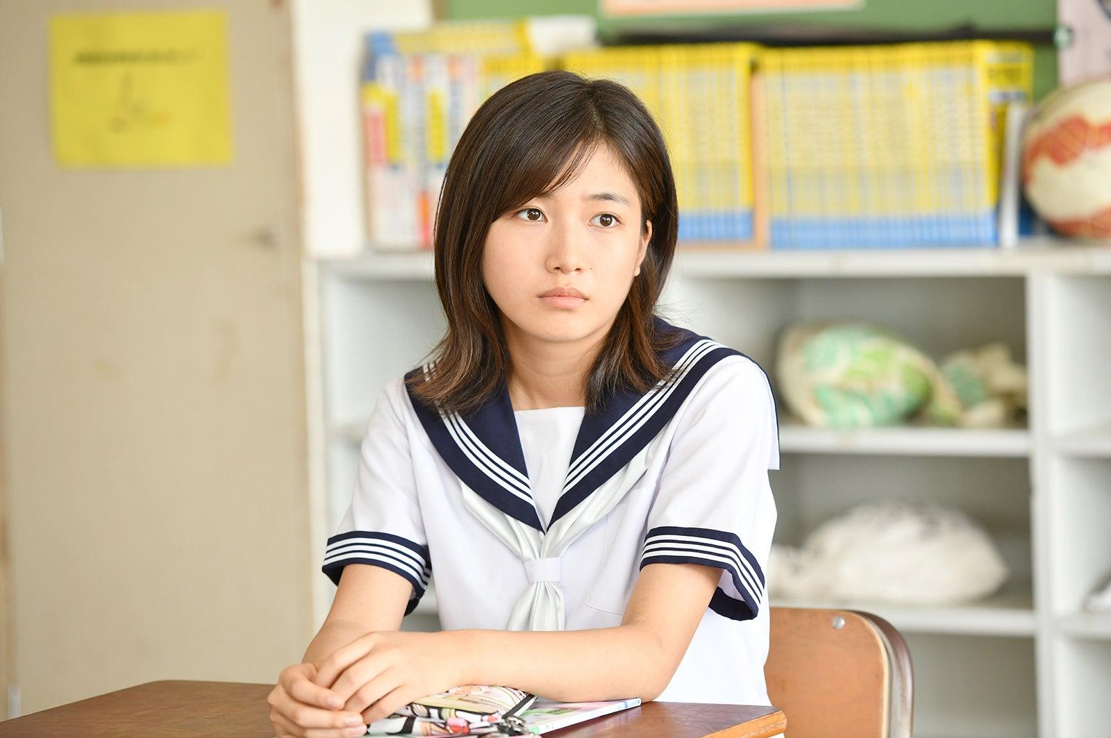 小野莉奈/「中学聖日記」より(C)TBS